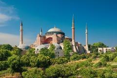 St Sophia Cathedral, Istanboel, Turkije stock fotografie