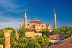St Sophia Cathedral, Istanbul, Turkiet arkivbild