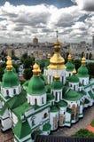 St. Sophia Cathedral in Kiev. HDR.St. Sophia Cathedral in Kiev, Ukraine Royalty Free Stock Photo