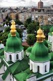 St. Sophia Cathedral in Kiev. HDR.St. Sophia Cathedral in Kiev, Ukraine Stock Images
