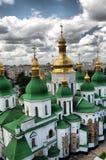 .St. Sophia Cathedral in Kiev. HDR.St. Sophia Cathedral in Kiev, Ukraine Royalty Free Stock Photo