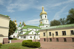 ST SOPHIA CATHEDRAL IN KIEV. Taken on August 2012. SAINT SOPHIA CATHEDRAL IN KIEV, UKRAINE. Taken on August 2012 Royalty Free Stock Photography