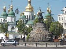 St Sophia Cathedral in Kiev ukraine royalty-vrije stock fotografie