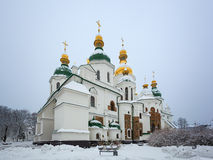 St.Sophia Cathedral. Kiev. Ukraine. Royalty Free Stock Images