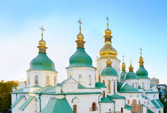 St. Sophia Cathedral . Kiev, Ukraine. St. Sophia Cathedral (Eastern Orthodox Cathedral) - UNESCO World Heritage Site. Kiev, Ukraine Stock Image