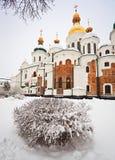 St.Sophia Cathedral. Kiev. Ukraine. St.Sophia Cathedral in Kiev. 11th century. Ukraine Stock Image