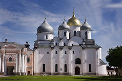 St. Sophia Cathedral. Kremlin Detinets Royalty Free Stock Images