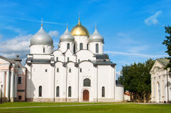 St. Sophia cathedral in Kremlin Stock Image