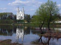 St Sophia Cathedral in Polatsk Immagine Stock
