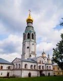 St Sophia Cathedral, torre de sino de St Sophia Cathedral, Kremlin de Vologda Vologda, Rússia Tipos de Vologda postcards fotos de stock royalty free