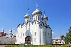 St. Sophia Cathedral. Vologda,Russia. VOLOGDA,RUSSIA-MAY, 2015.St. Sophia Cathedral in Vologda,Russia on May 2015.It was constructed between 1568 and 1570 under Stock Image