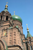 St. sophia church in harbin. Harbin construction art museum,St. Sophia Church Stock Image