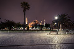St. Sophia church, mosque and museum in Istanbul. Turkey Royalty Free Stock Photos