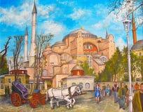 St Sophia a Costantinopoli Fotografia Stock Libera da Diritti