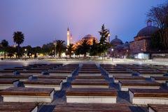 St. Sophia (Hagia Sophia) church in Istanbul. Turkey Stock Photography