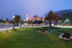 St. Sophia (Hagia Sophia) church Royalty Free Stock Photos