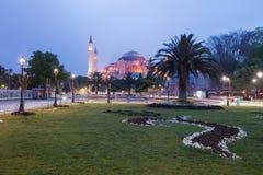 St. Sophia (Hagia Sophia) church. Mosque and miseum in Istanbul, Turkey Stock Photos