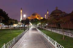 St. Sophia (Hagia Sophia) museum in Istanbul. Turkey Stock Image