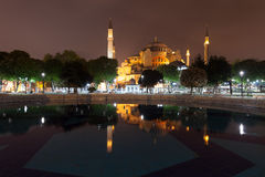 St. Sophia (Hagia Sophia) museum in Istanbul. Turkey Stock Images