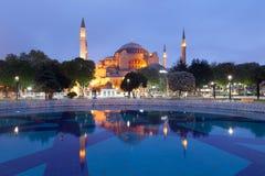 St. Sophia (Hagia Sophia) museum in Istanbul. Turkey Royalty Free Stock Photos