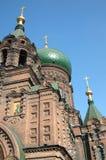 st sophia harbin церков Стоковое Изображение