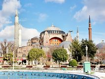 St Sophia, Istanbul Royaltyfri Bild