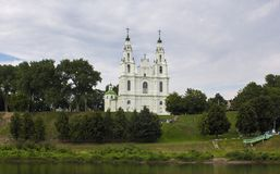 St Sophia katedra w Polotsk Fotografia Stock
