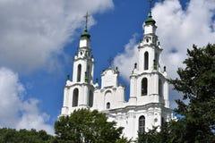 St Sophia katedra w Polotsk Białoruś Zdjęcia Stock
