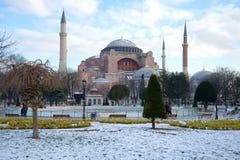 St Sophia Katedralny meczet, Hagia Sophia Istanbuł, Turcja Zdjęcie Stock