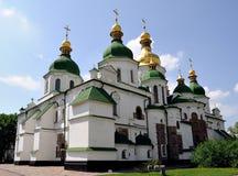 St. Sophia Kathedraal in Kiev, de Oekraïne Stock Foto