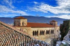 St Sophia, Ocrida, Macedonia immagine stock libera da diritti