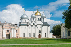 St Sophia Russian Orthodox cathedral Royalty Free Stock Photography