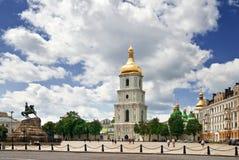 St. Sophia square in Kyiv. Ukraine Stock Photos