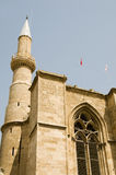 St. Sophia van de Moskee van Selimiye Kathedraal Cyprus Royalty-vrije Stock Fotografie
