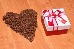 St Sorpresa del giorno del biglietto di S. Valentino Fotografie Stock