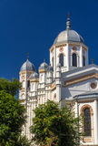 St Spyridon新的教会在布加勒斯特 库存图片