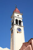 St Spyridon Bell Tower. The bell tower of St Spyridon, Corfu, Greece royalty free stock photo