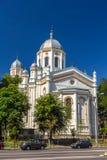 St Spyridon Nowy kościół w Bucharest Obrazy Royalty Free