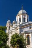 St Spyridon Nowy kościół w Bucharest Obrazy Stock