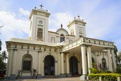 st sri mary s lanka церков bambalapitiya стоковое изображение rf