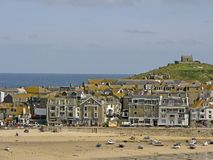 St.St. Ives, Penwith, Cornwall, England Stock Image