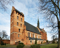 St. Stanislaus Bishop church of the Andrew Bobola in Swiecie. Poland.  Royalty Free Stock Photos