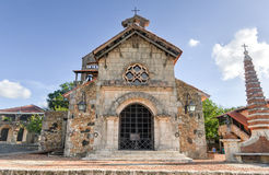 St Stanislaus Church, Altos DE Chavon, La Romana, Dominicaans aangaande Royalty-vrije Stock Foto's