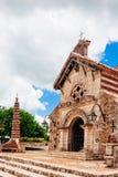 St Stanislaus Church Negativi per la stampa di cartamoneta antichi de del villaggio Immagine Stock