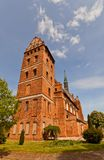 St. Stanislaus church (1521) in Swiecie town, Poland. Church of Our Lady of Czestochowa and St. Stanislaus (circa 1521) in Swiecie town, Poland. Erected in XVI Royalty Free Stock Photo