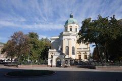 St. Stanislaus Garrison Church in Radom Stock Photos