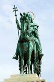 St. statua Stephen - frontview fotografia stock