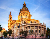 St. Stefan basilica in Budapest, Hungary Stock Photo