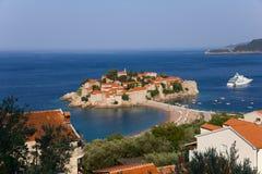 St. Stefan island Stock Photo