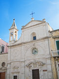 St. Stefano church. Molfetta. Apulia. Stock Images